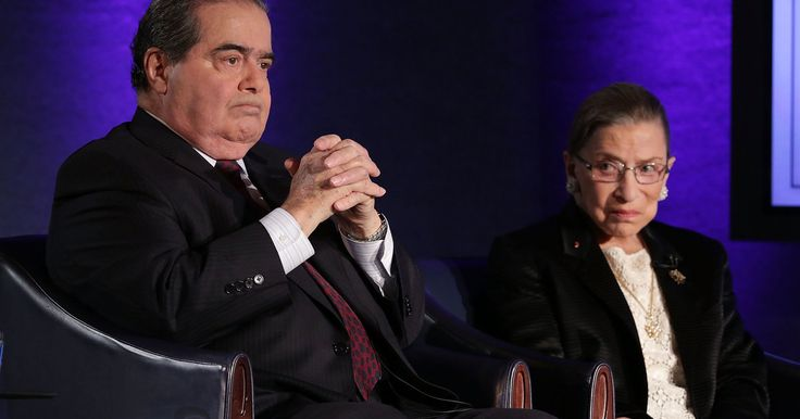 """Ruth Bader Ginsburg Remembers Antonin Scalia, Her Dear Friend And Sparring Partner. """" Call us the odd couple,"""" Scalia once said of their unlikely friendship."""