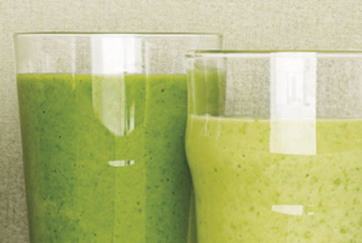 Spinach Smoothie With Avocado and Apple Recipe | Real Simple