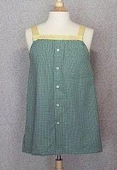 Tutorial: Aus dem Buttondown-Hemd eines Mannes ein Sommeroberteil für Damen machen · Nähen | CraftGossip.com