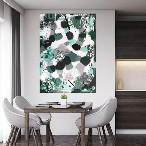Acrylic on canvas #majbritlund#lund#kunst#acrylic#style#boligstyling#konst#abstraktkunst#kunstpåvæggen#living#nordic#nordichome#nordicdesign#design#danskdesign#painting#art#arte#instaart#artgallery#artlovers#kitchen#kitchendesign#contemporarydesign#artbymajbritlund
