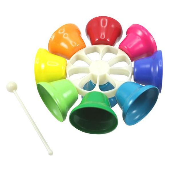 Musical Instrument - Spinning Rainbow Bells So our house is pretty noisy as it is, but it's usually the wooden spoon on a saucepan kind of noise! Listening to the kids play these beautiful bells actually sounds like a pleasant experience  #entropywishlist #pintowin