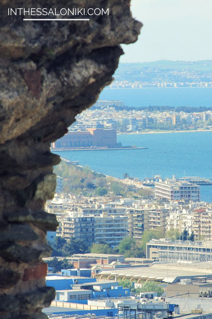 ● Amazing view of #Thessaloniki, Greece from the Upper City.