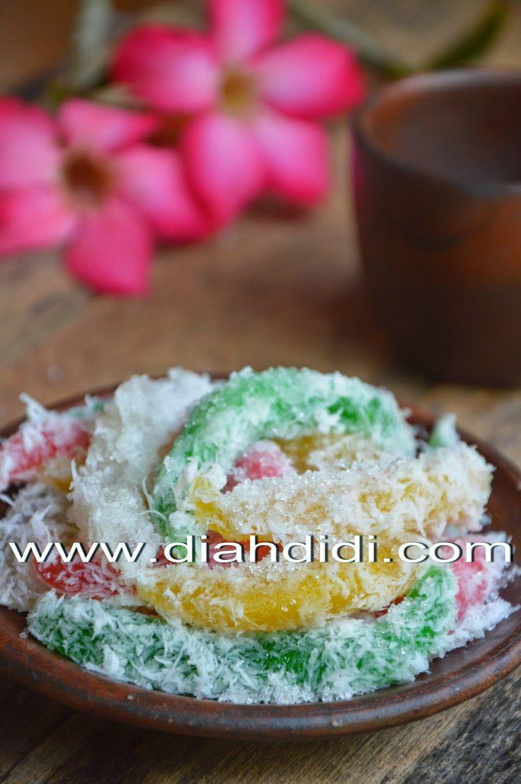 Diah Didi's Kitchen: Cenil Versi Resep Baru