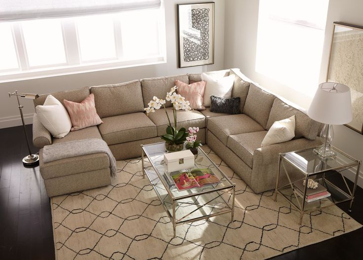 Retreat Roll Arm Sectional With Chaise