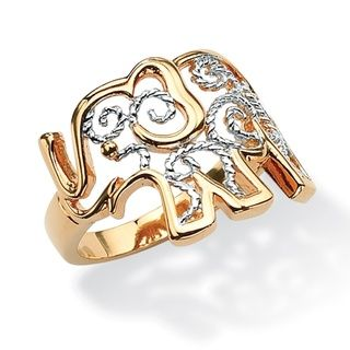 Toscana Collection Filigree Elephant Ring