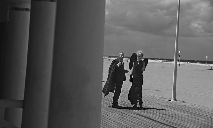 Hommage à Wim | Daphne Groeneveld & Pascal Greggory by Peter Lindbergh for Numéro September 2011