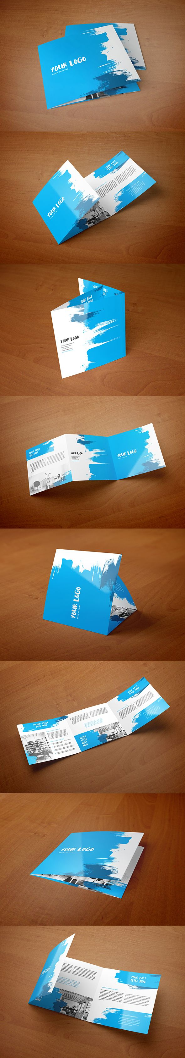 Square Cool Paint Trifold. Download here: http://graphicriver.net/item/square-cool-paint-trifold/12692656?ref=abradesign