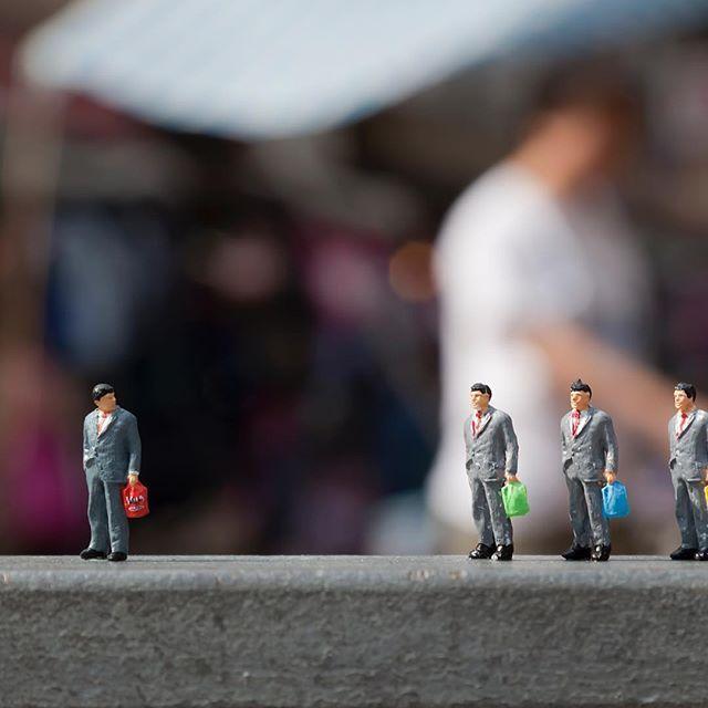 FAKES Kowloon, Hong Kong, 2011 . . . . . . . #slinkachu #streetart #modernart #miniature