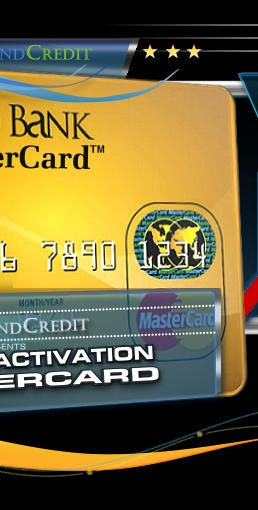 INSTANT APPROVAL CREDIT CARD - ANY CREDIT SCORE OK