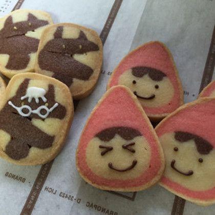 可愛い♡赤ずきんアイスボックスクッキー by えん93 [クックパッド] 簡単おいしいみんなのレシピが233万品
