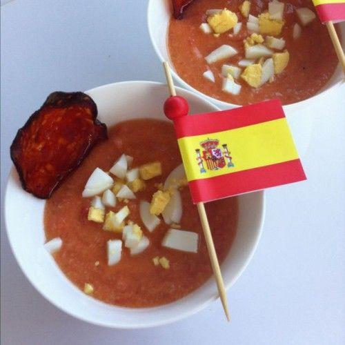 Salmorejo Con Tomate Le vrai gazpacho andalou !