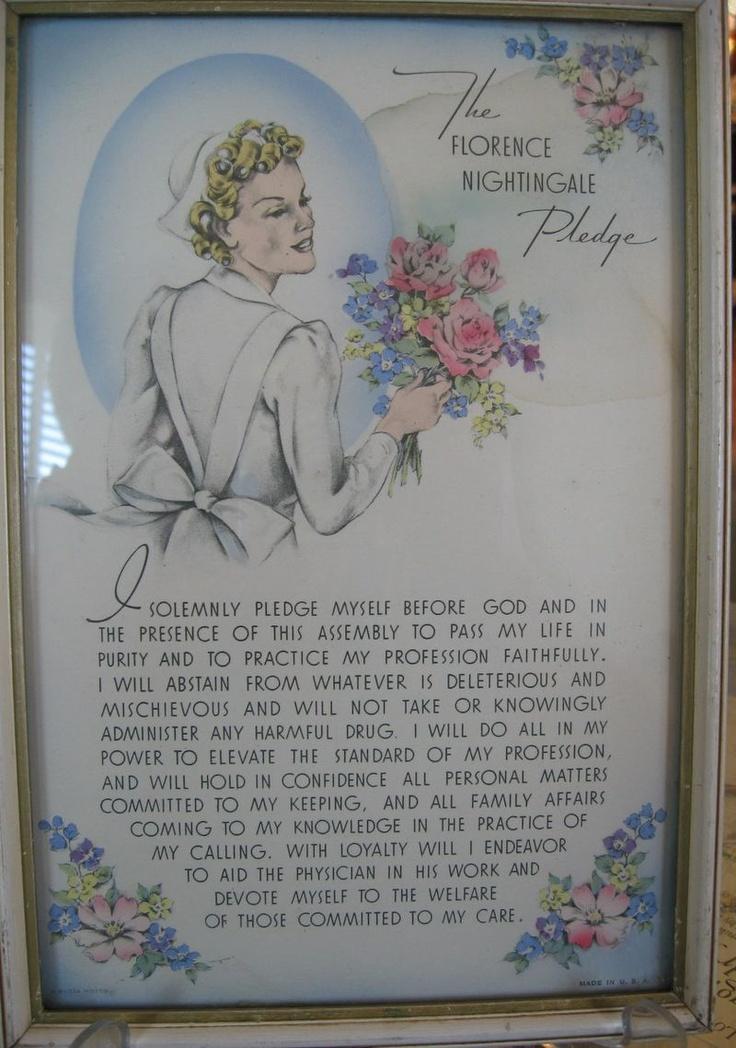 buzza motto nursing pledge
