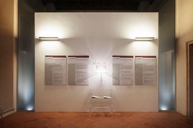 """Kartell for Expo   Archivio di Stato: """"Io Lionardo da Vinci"""" exhibition"""