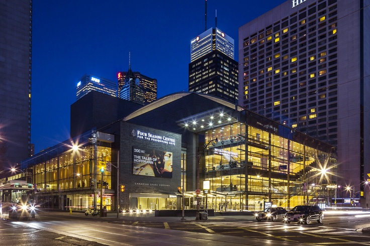 Four Seasons Centre for the performing Arts. Toronto, Canada