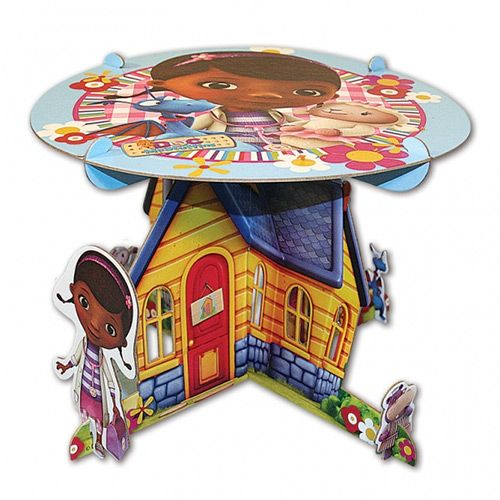 Doc McStuffins Cake Stand - Doc McStuffins Party Supplies - Party Ark. Also check out my shop for more ideas www.partiesandfun.etsy.com