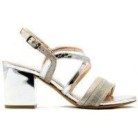 Scarpe Donna Sandali Albano - Sandalo Argento Silver