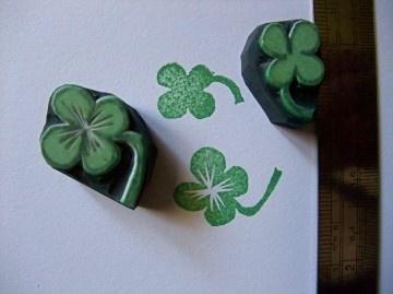 Clover Stamp Set
