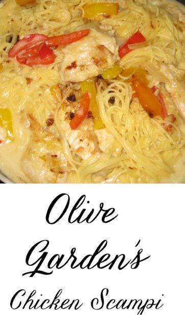 Restaurant Inspired Olive Garden 39 S Chicken Scampi New Favorite Dish Delicious Pasta Impress