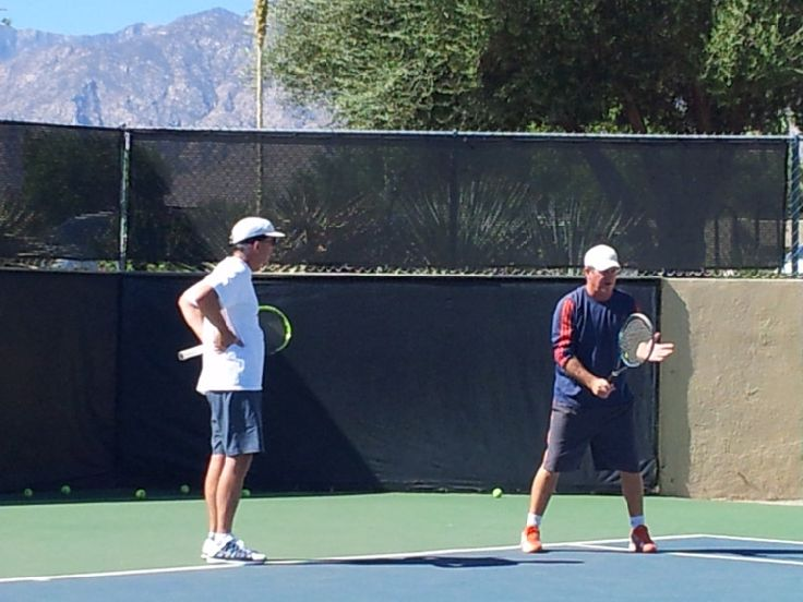 Charlie Moore is a well-respected pro in the Palm Springs area and offers lessons, clinics and matching.