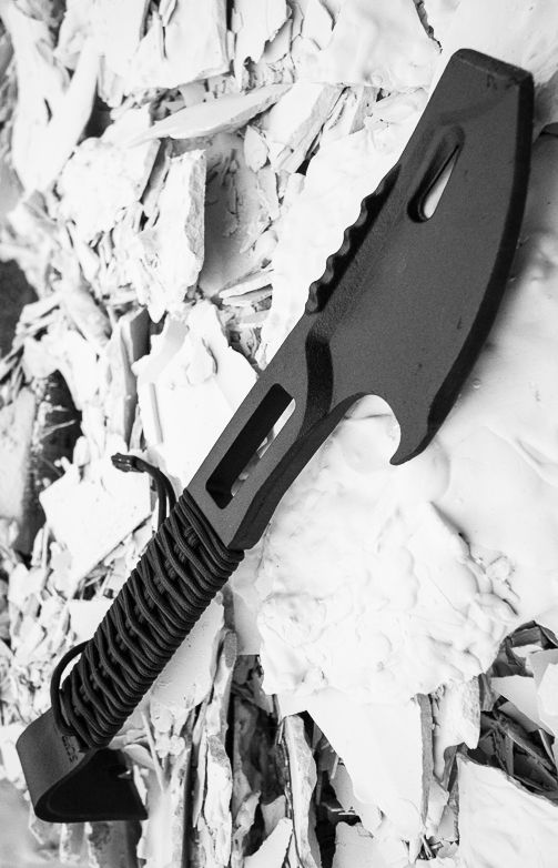 Schrade SCHPB2BK Moe Multi-Purpose Demolition Tool  Axe Hammer @this