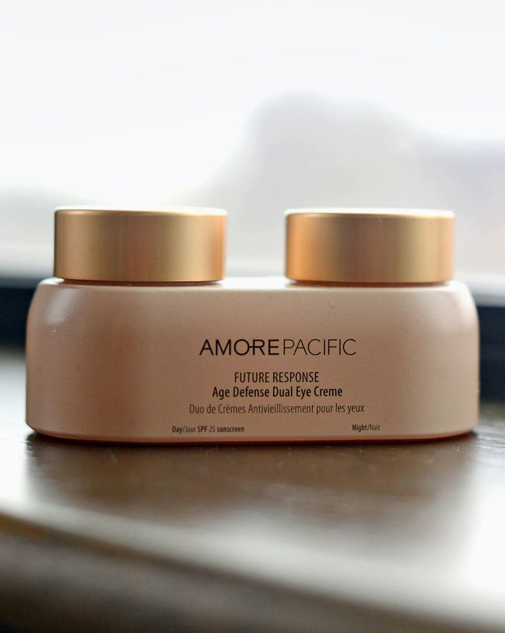 """""""This is my favorite thing: my AmorePacific Dual Eye Cream — one is for day and one is for night. The day one has sunscreen in it."""" — Emma Roberts (Photo: Jennifer S. Altman for The New York Times)"""