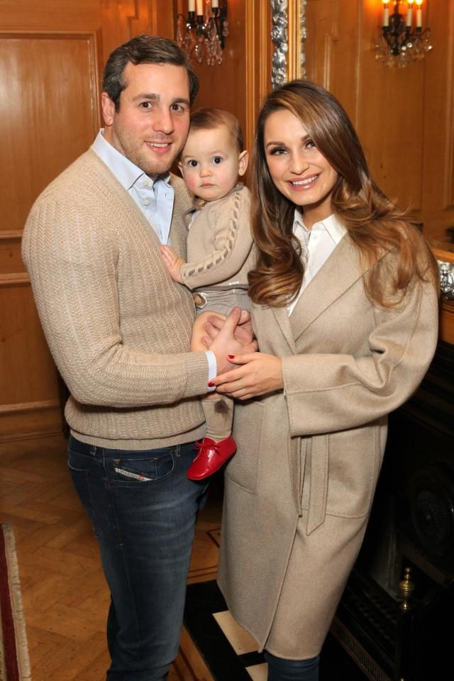 Sam Faiers celebrates baby Pauls first birthday with boyfriend Paul in matching beige outfits for posh afternoon tea at The Savoy Hotel