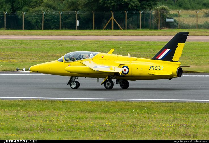 Folland Gnat T.1 G-MOUR FL596 Fairford Air Force Base - EGVA