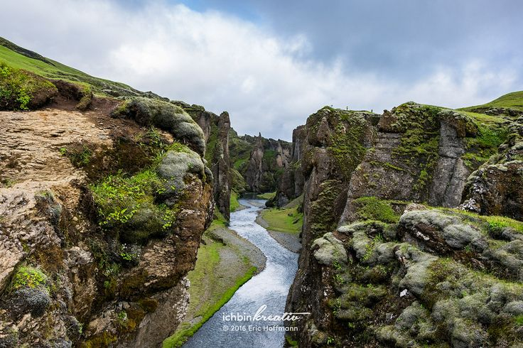 https://flic.kr/p/xiuHCG | Fjaðrárgljúfur | This remarkable canyon is located in the southern highlands of Iceland by the mountain road F206 towards Lakagígar. It's up to 100 metres (328 feet) deep and about 2 kilometres (1.2 miles) long, while a hiking path leads all along the east side. The mountain road F206 is reliable passable from about June to September, depending on the road and weather conditions, and a 4x4 is essential. More information on…