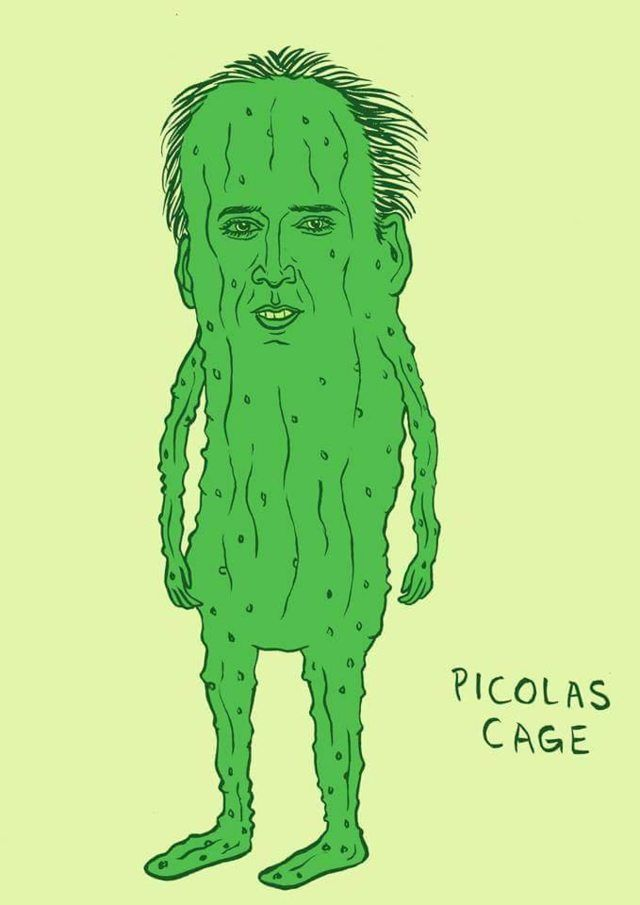 logged on to find out it's my cakeday and i have 30 minutes to celebrate, so here is picolas cage - Imgur