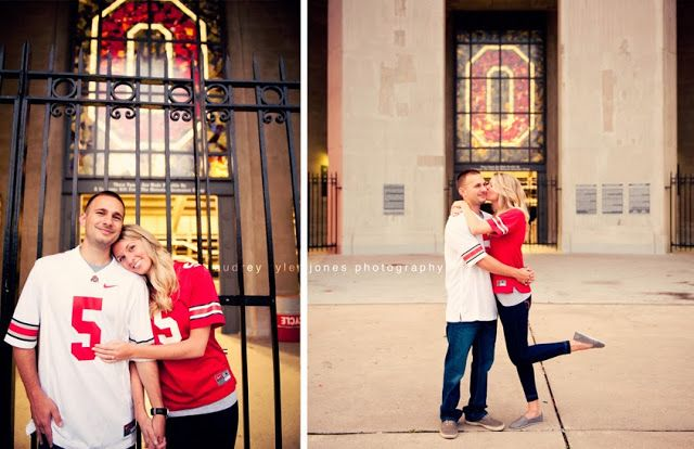 OSU Engagement Photo Session, Romantic couple, Ohio State University, college, love, getting married audreytyler.me © audrey tyler jones photography