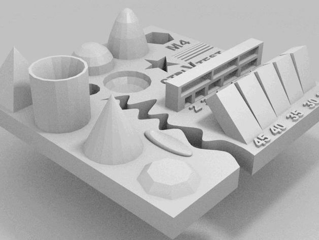 File stl DÙNG CÂN CHỈNH MÁY IN 3D. cách sửa máy in 3d hcm