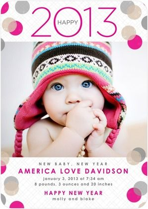 cute new year baby announcement ooo baby baby pinterest birth announcement photos birth announcement girl and birth