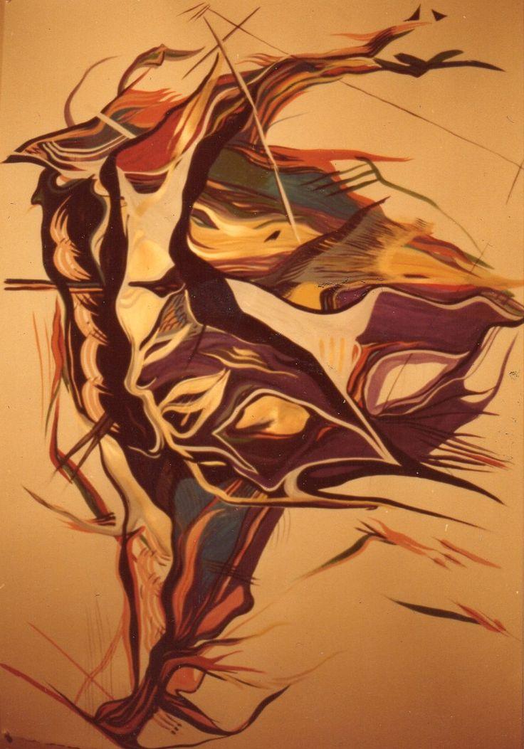 Painting on paper. www.EricaRoss.com