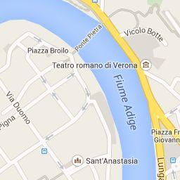 mappa personalizzata-visita guidata a verona