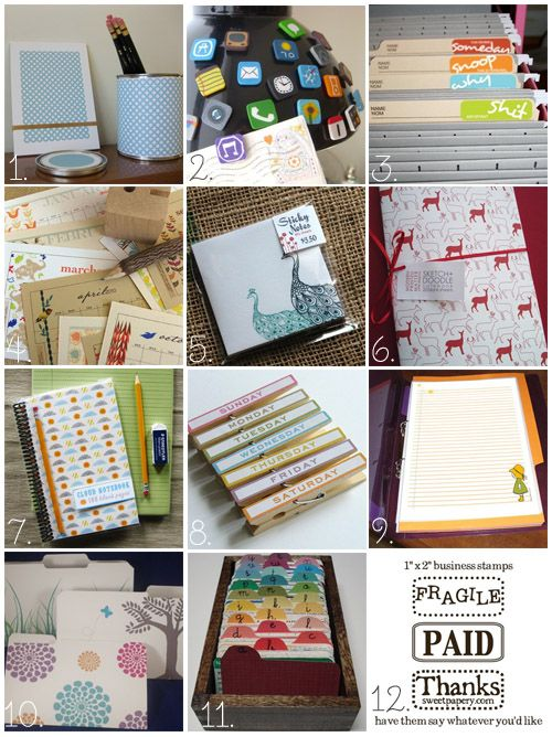 I Have A Thing For Office Supplies. Cute Sticky Notes, Customized Notepads,  Fun Clips And Paperclips, All Sorts Of Notebooksu2026