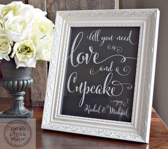 Wedding Decor + Directional Signs