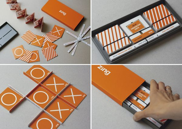 "Christmas parcel ""ACTION! ORANGE CHRISTMAS!"" by RED MELON STUDIO , via Behance"