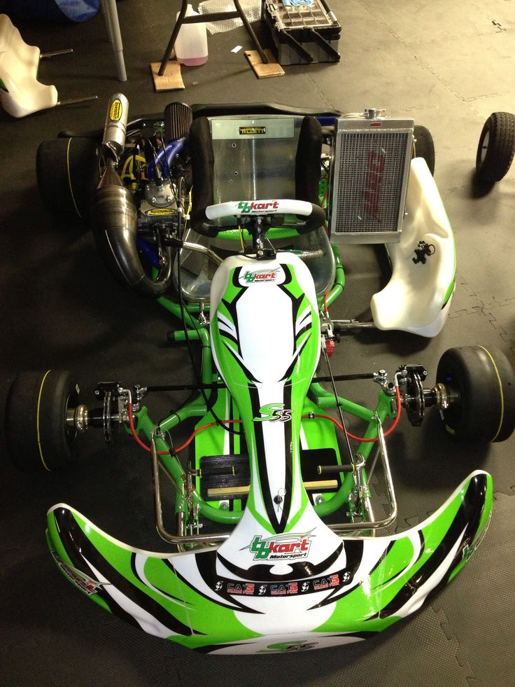 TB Kart. 125 Stock Moto Shifter Kart. Driven to win!