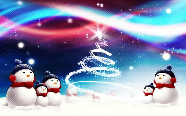 Christmas snowman wallpaper | Tag: Snowman Backgrounds, Wallpapers, Photos, Pictures,and Images for ...