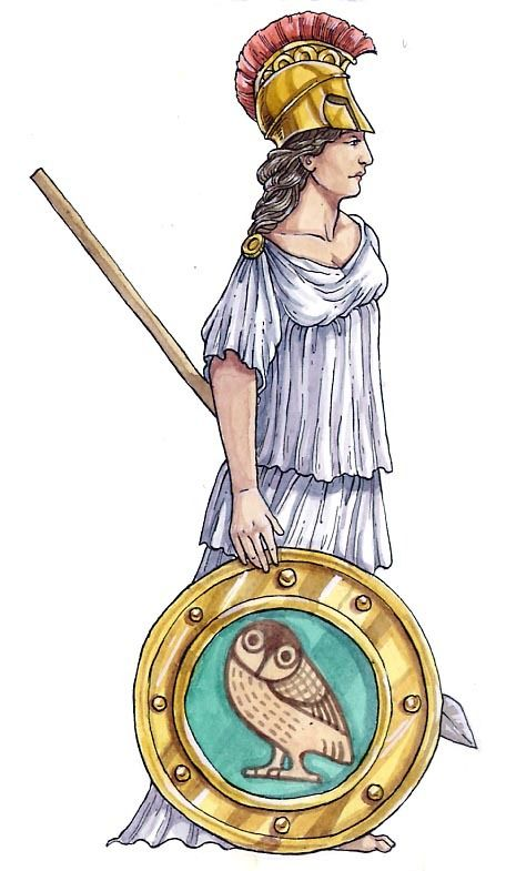 Minerva Goddess Of Art Science And Crafts Wissen Genial