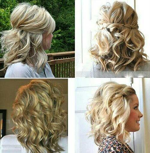 20 Short Styles for Curly Hair | The Best Short Hairstyles for Women 2015
