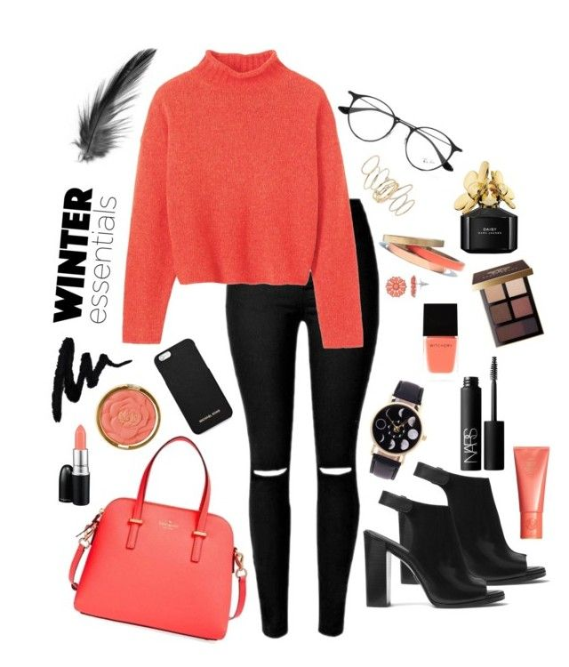 """""""Untitle"""" by vanna0803 on Polyvore featuring Toast, Michael Kors, Kate Spade, Ray-Ban, MICHAEL Michael Kors, BP., Voz Collective, Milani, Witchery and Space NK"""