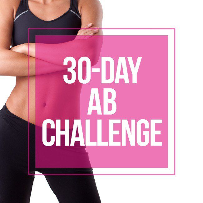 Follow along for the month of January with our 30-day ab challenge! Get a tight and toned tummy with us this month!