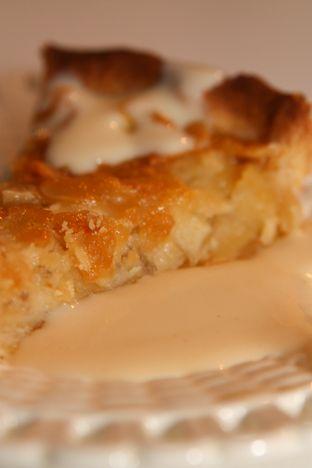 Gourmetmorsan: Höstig äppelpaj med toscatäcke!