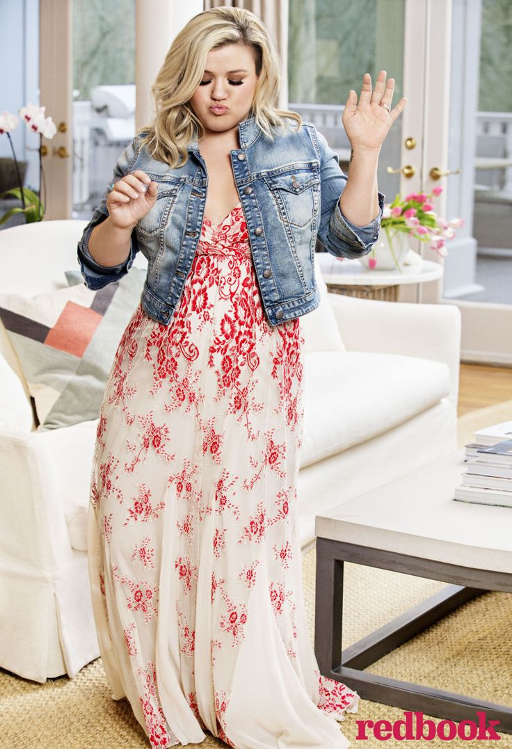 Kelly Clarkson on Fat-Shaming, Motherhood, Confidence, And Happiness in Redbook Exclusive