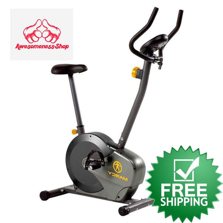 UPRIGHT BIKE Stationary Fitness Cardio Workout Indoor Gym Exercise Magnetic NEW #Marcy