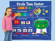 Circle TimeLakeshore Learning, Time Center, Circle Time, Circles Time, Pocket Charts, Learning Center, Classroom Ideas, Time Learning, Calendar