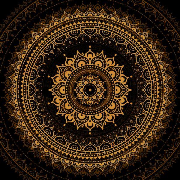 Mandala by Katya Ulitina, via Behance
