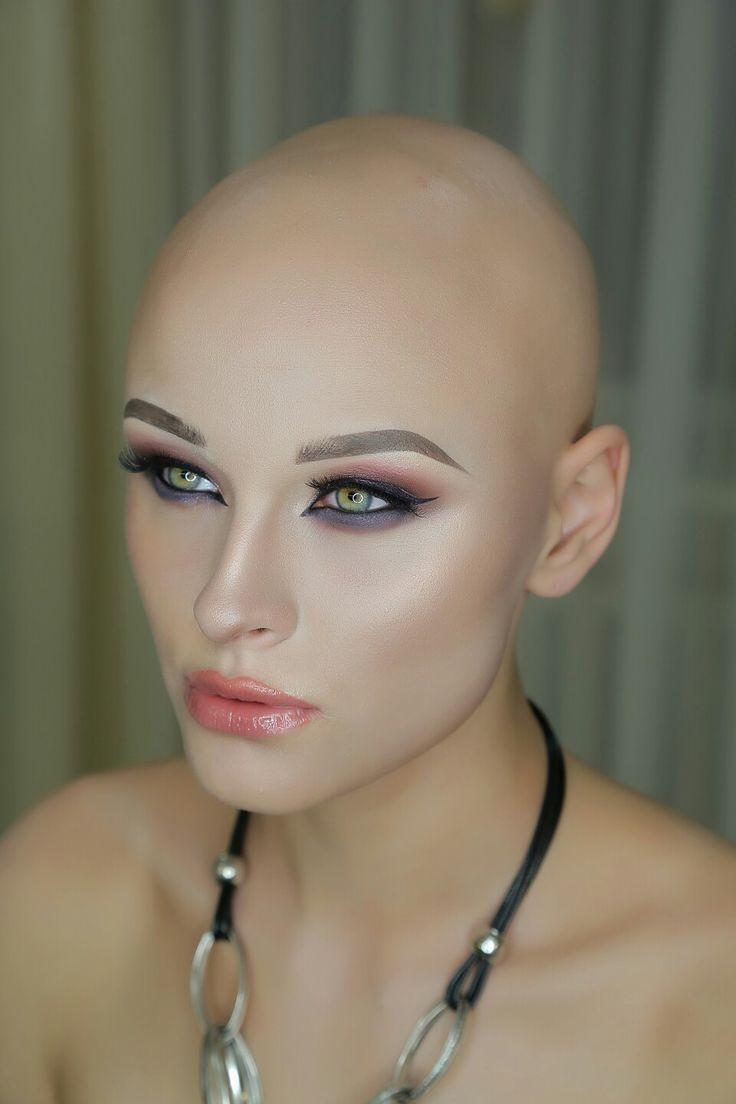 Bald girl photo 4