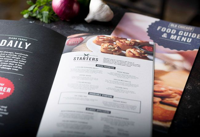Old Chicago - Pizza & Tap /Contributed by Ron Boucher, creative director at Orlando-based Push / Restaurant / food / logo / design / branding / menu / layout